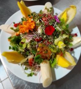 Salada da estação