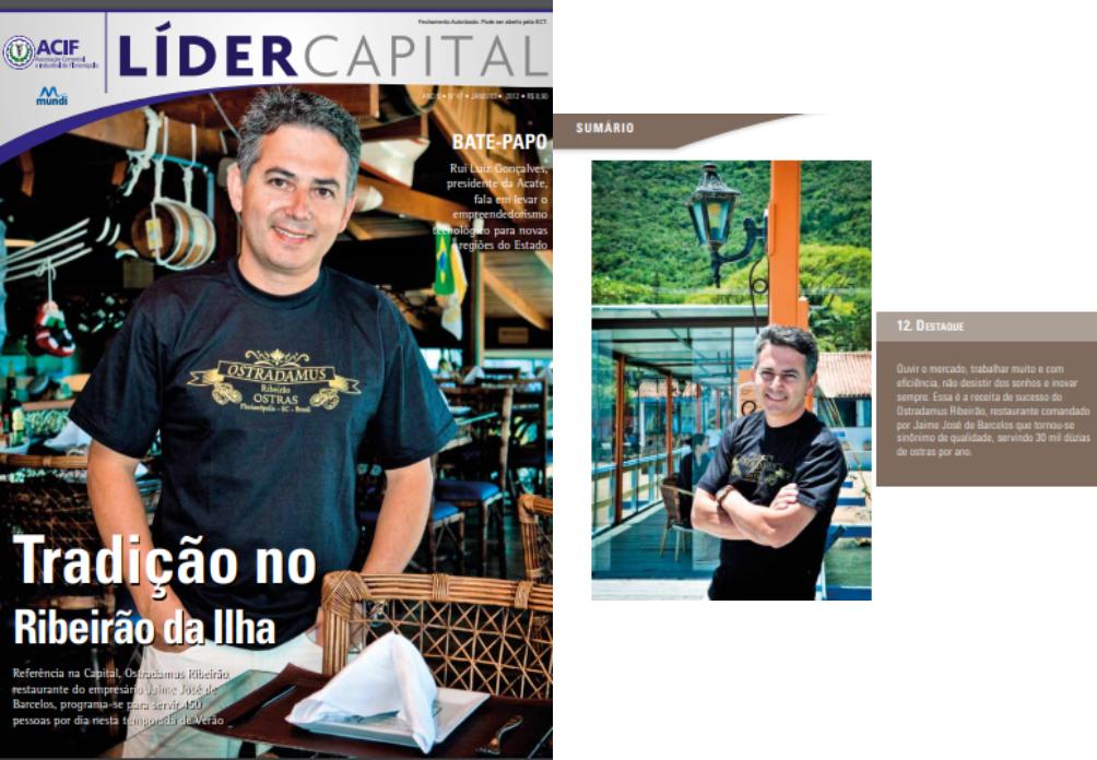 A edição nº 47 da Líder Capital destaca o Ostradamus Ribeirão – 2012